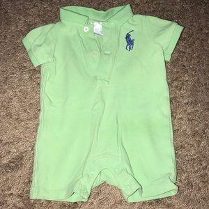 Polo Ralph Lauren Light Green Onesie 3 Months